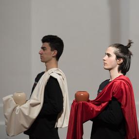 Alchemistisches Requiem Première in Salzburg: 6 aprile 2021, foto Norbert Kopf
