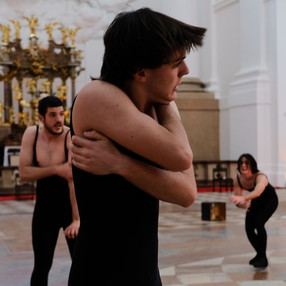 Alchemistisches Requiem Première in Salzburg: 6 aprile 2021, foto Enrico Fauro