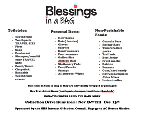 Blessings in a Bag Flyer