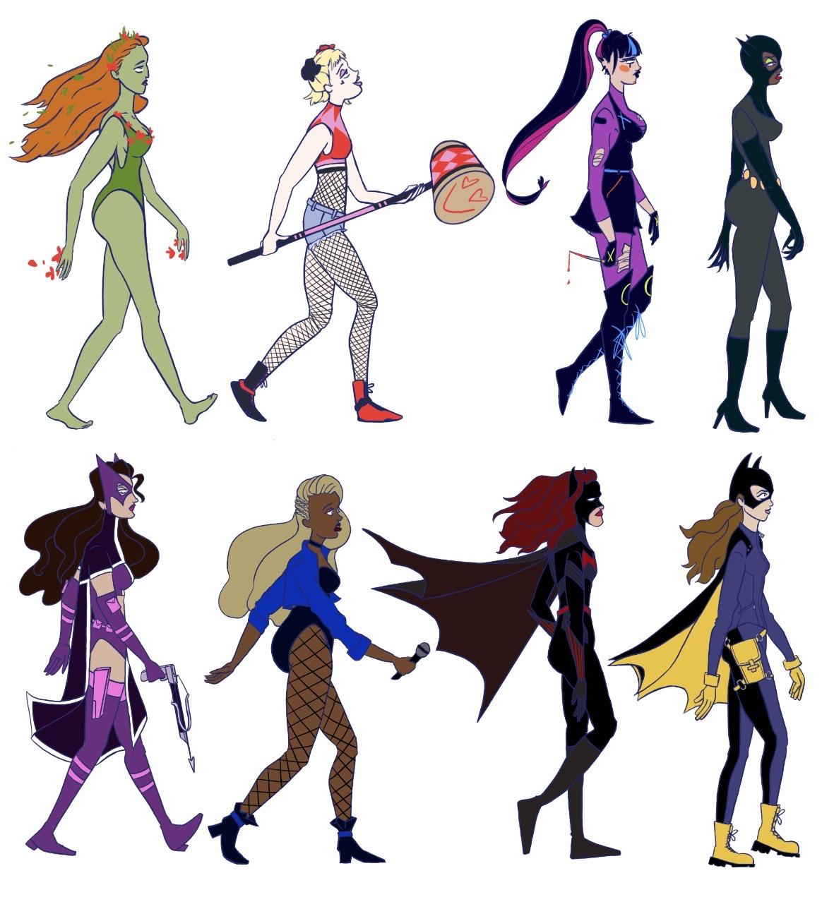 Batman Character Redesigns