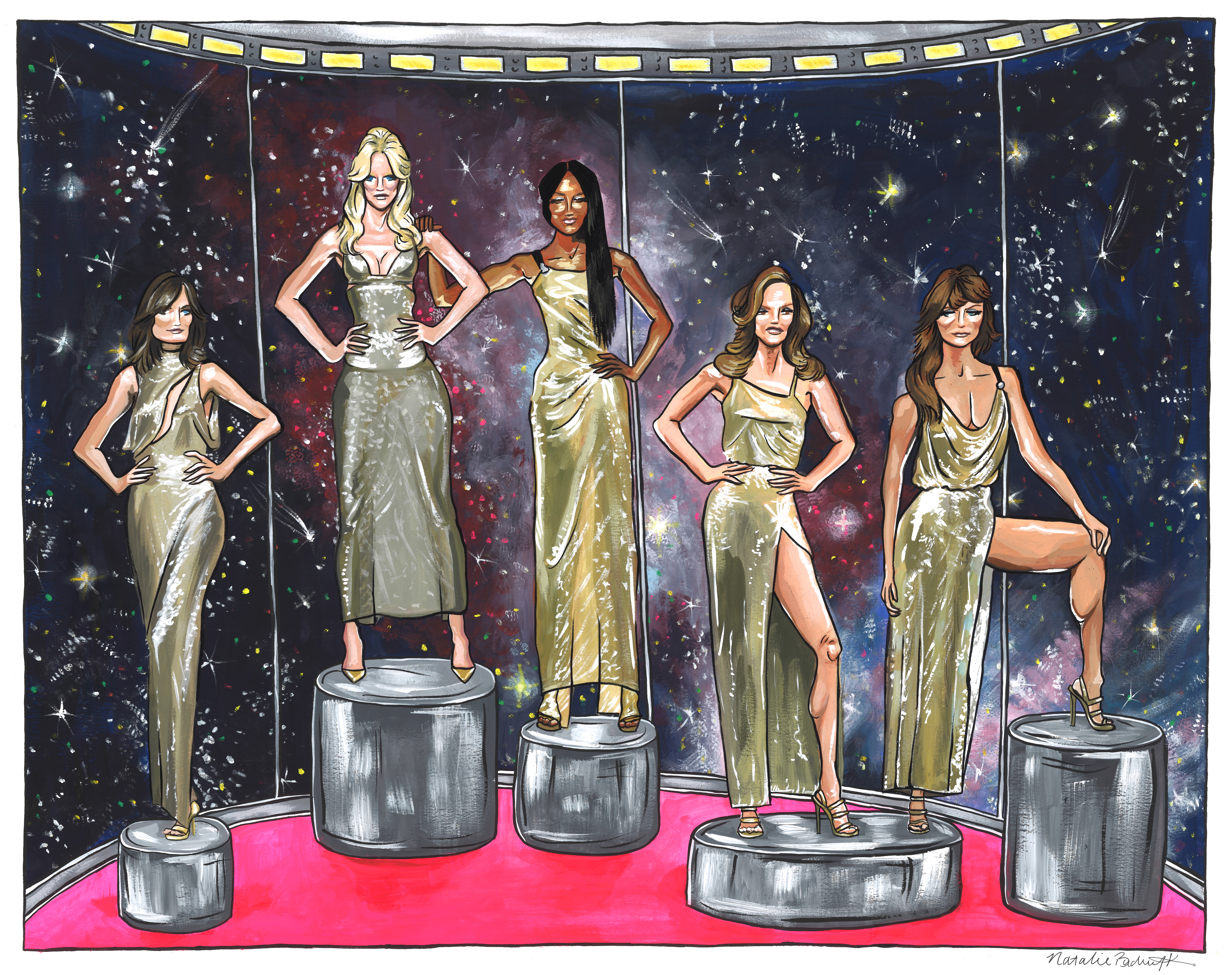 Versace Tribute (in Space)