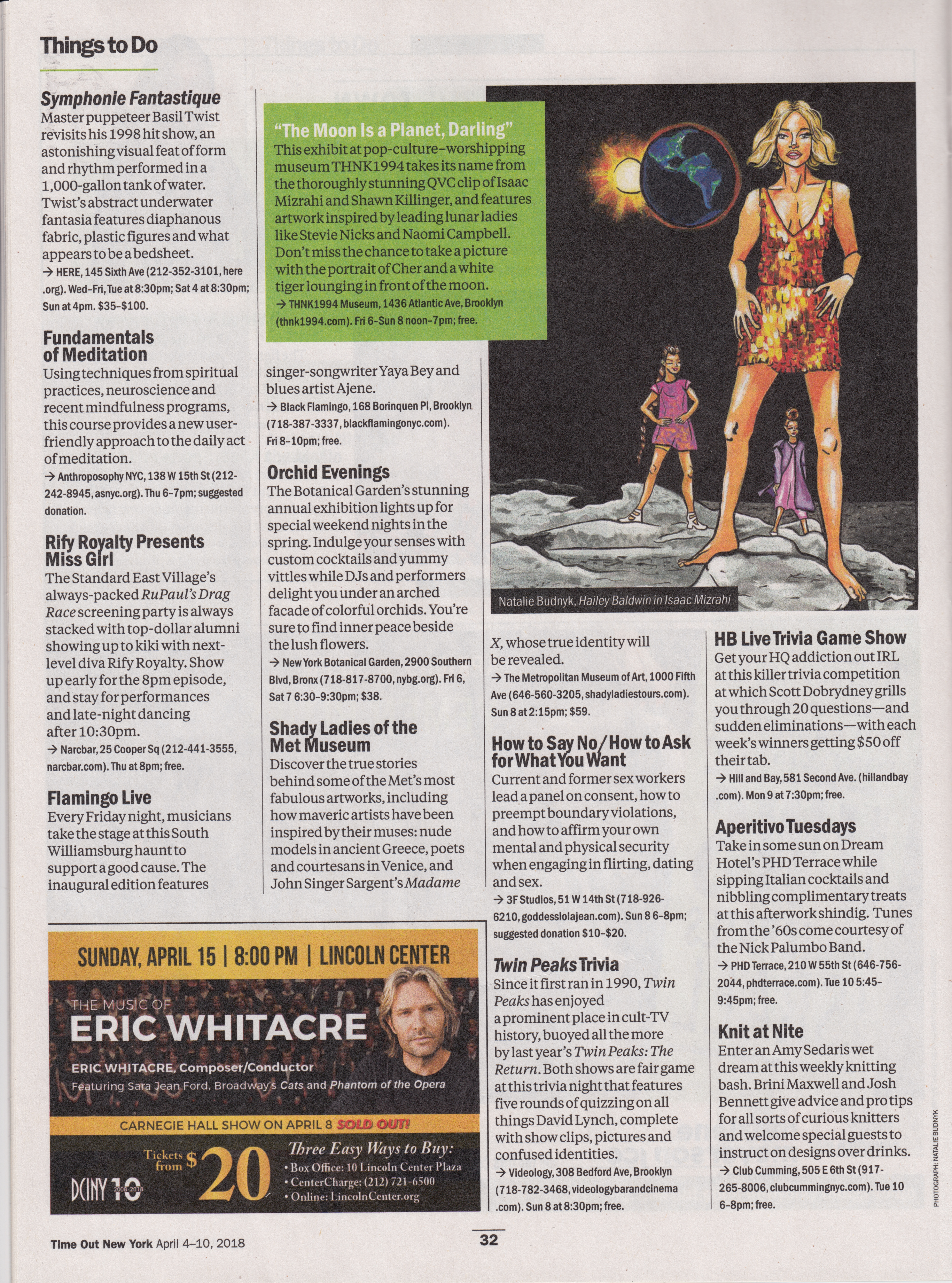 Time Out NY Feature