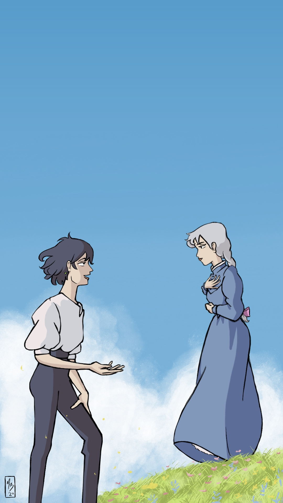 Howl's Moving Castle Redraw