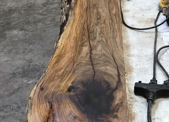 Live edge Mesquite mantle