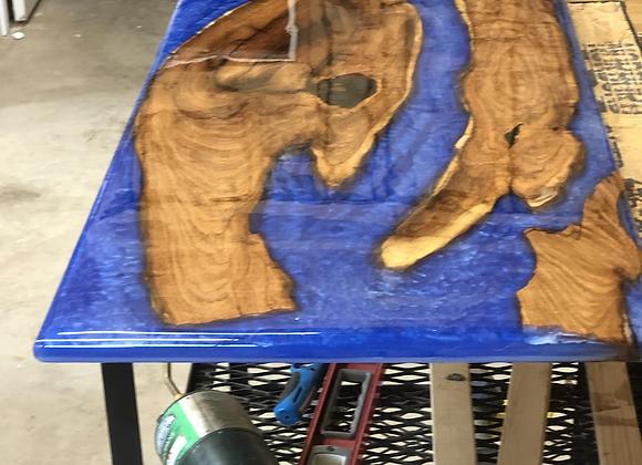 Mesquite Blue River Table Top