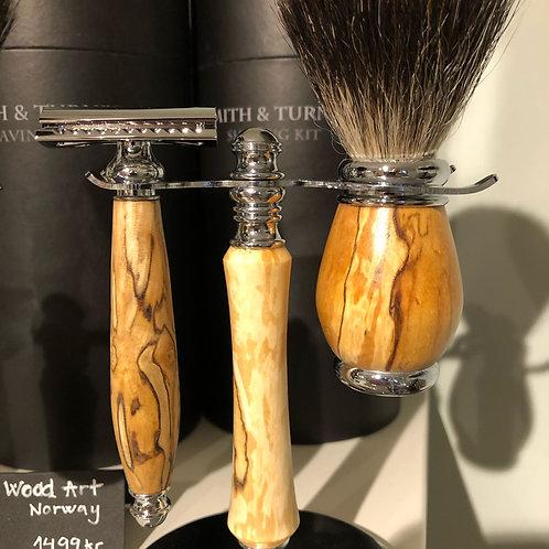 Barbersett  surbjørk