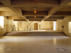 Réfectoire de l'abbaye de Fontdouce