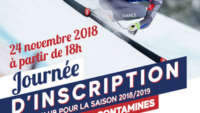Journée d'inscription