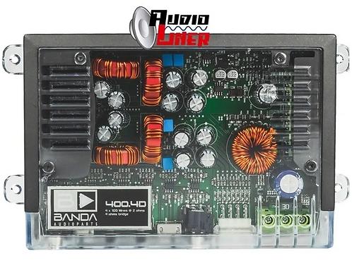 Amplificador Banda Brasil 400.4d 2 Ohmios 4 X 100 Wrms