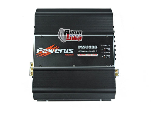 Powerus Pw1600 1960wrms 0.5 Ohm BlackPowerus Amplificador