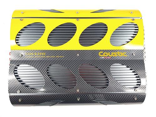 Amplficador Coustic Pro500.4 4 Canales 110 Wrms 2 Ohms