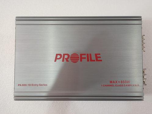 Amplificador Profile Pa-800.1d 1 Canal 800 Wrms