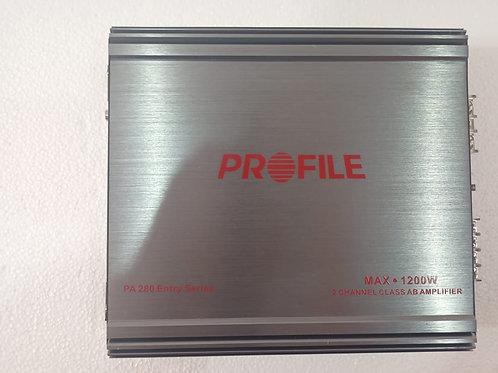 Amplificador Profile Pa-280 2 Canales 1200w Max 7visitas