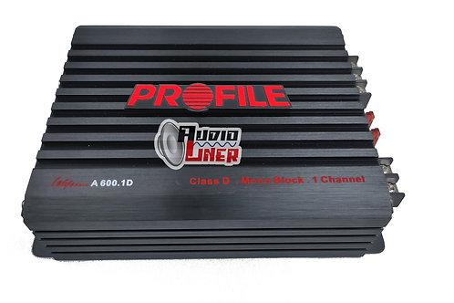 Profile A600.1D Canales 1200w Max Amplificador