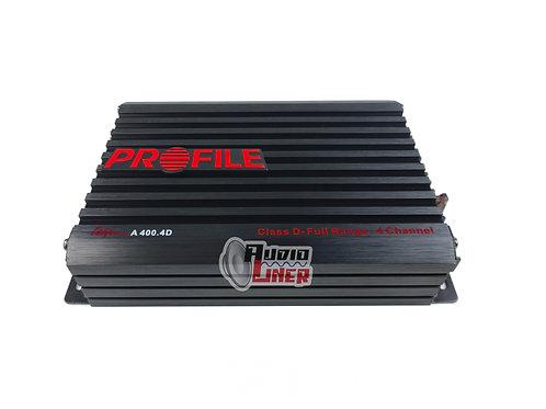 Profile  A400.4  4 Canales Amplificador