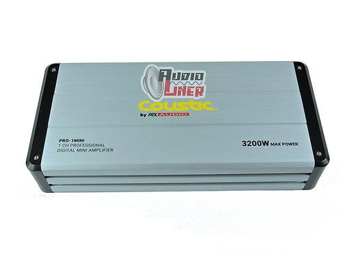 Ampificador Coustic Pro-1mini 1 Canal 1600 Wmrs