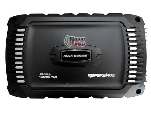 Rks-1000.1dl 1020wrms 1ohm Amplificador De Bajo Rock Series