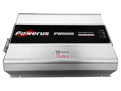 Pw5000 6,400wrms (0.5 Ohms)Amplificador Powerus
