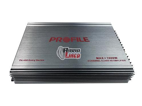 Profile Pa-450 4 Canales Amplificador1600w Max