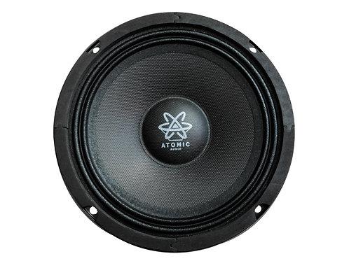 Set De Medios Profesional Atomic Audio Proton65pro 1200w 6.5