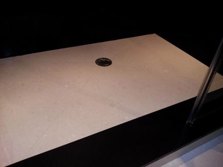 shower slab floor