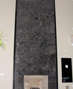 Paradisso granite fireplace surround