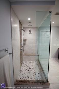 walk in shower glass