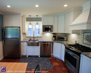 Country kitchen remodeling