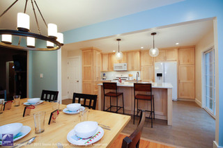 Kitchen and dining room remodel