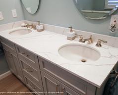 quartz vanity top