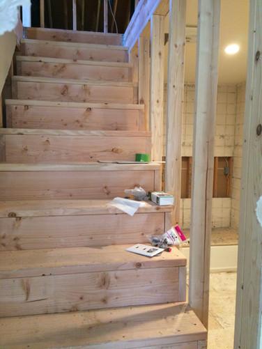 Finished attic