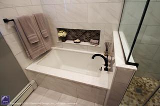 Guest bath remodeling