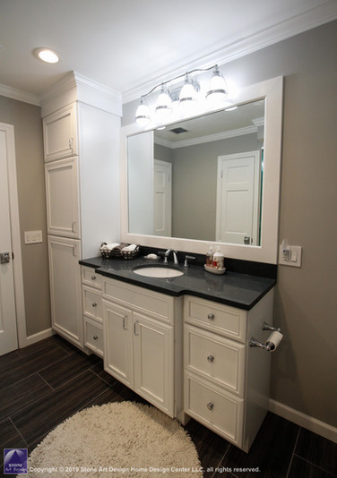Main bathroom remodel