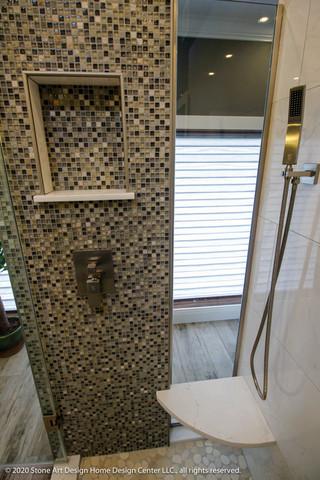 Whitehouse Station master bathroom