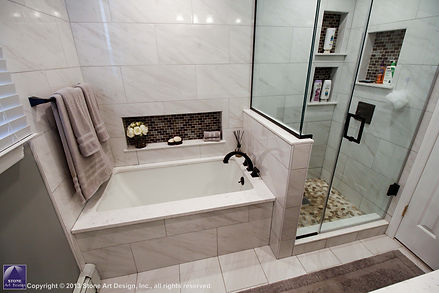 Guest bath remodeling