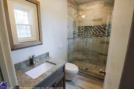 compact bathroom remodel