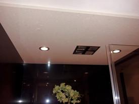 shower slab ceiling