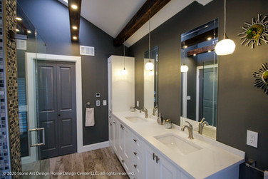 Whitehouse Station master bathroom