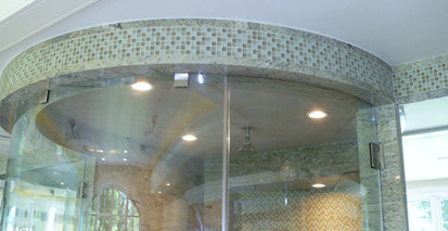 shower granite walls