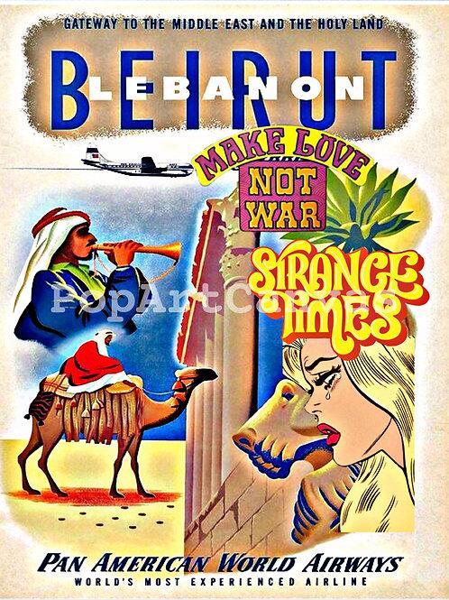 Old Beirut Poster