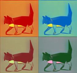 Warhol Imprint Cat