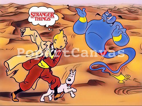 Dubai Mirage Tintin