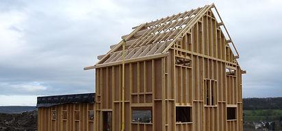 Maison ossature bois, murs perspirants