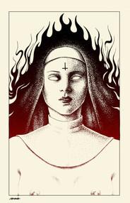 Burning Nun 1