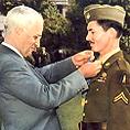 President Harry Truman & Desmond T. Doss