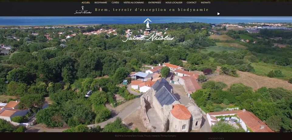 Domaine Saint Nicolas, a France based vineyard with Biodynamic Methods