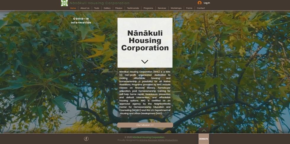Nanakuli Housing Corporation, Hawaii, Making affordable housing and homeownership a possibility for all Native Hawaiians