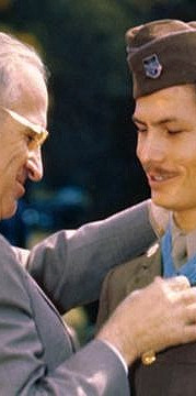 President Truman Awards the Congressional Medal of Honor to Desmond Doss