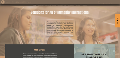 Solutions For All of Humanity, Making The World A Better PLace