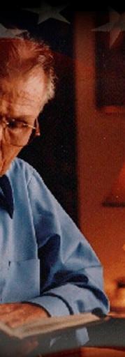 Desmond T. Doss at home.